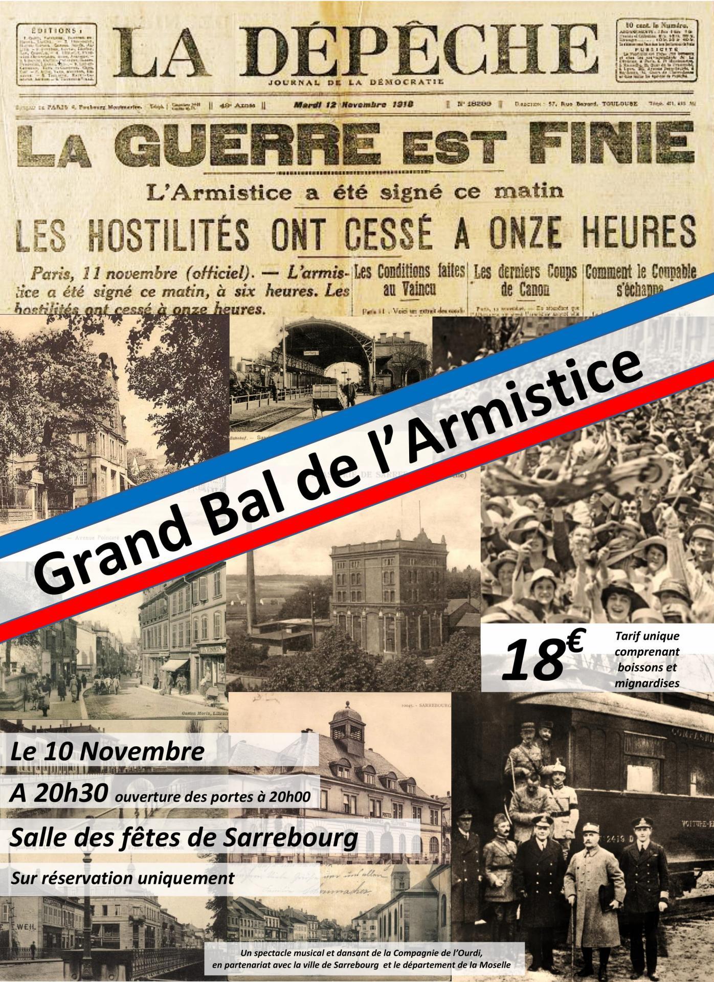 1 affiche bal de l armistice 1